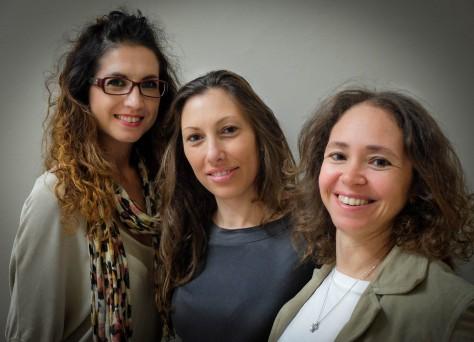 Priscilla Mertoli, Luana Ferlito e Valentina Genitori D'Arrigo